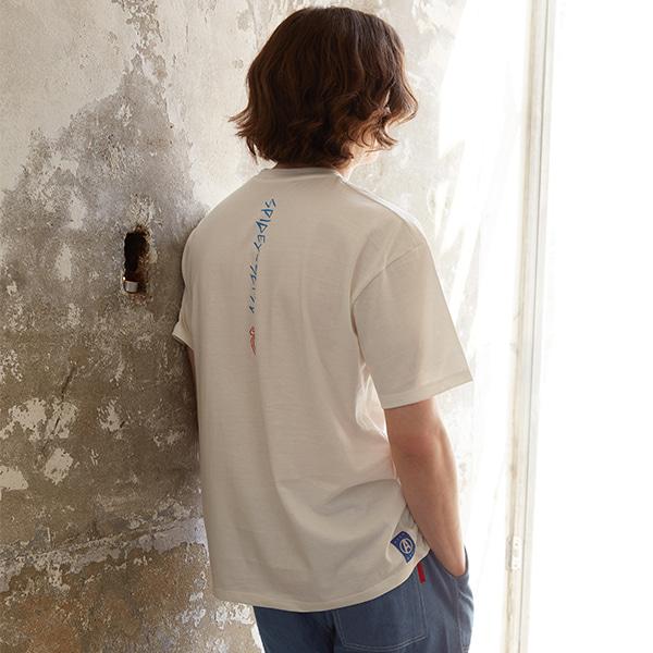 스파이더맨 박스핏 반팔 티셔츠